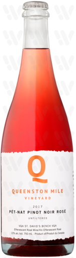 Queenston Mile Pét-Nat Pinot Noir Rosé