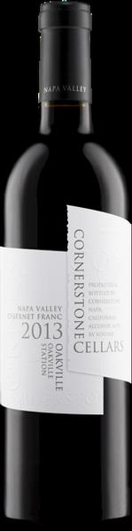 Cornerstone Cellars Oakville Cabernet Franc, Oakville Station Vineyard White Label Bottle Preview