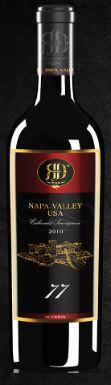 RD Winery Napa 77 Grand Cru Syrah Bottle Preview