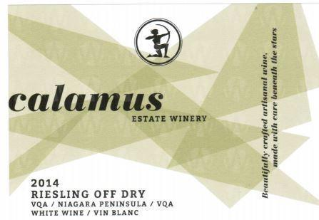 Calamus Estate Winery Riesling Off Dry