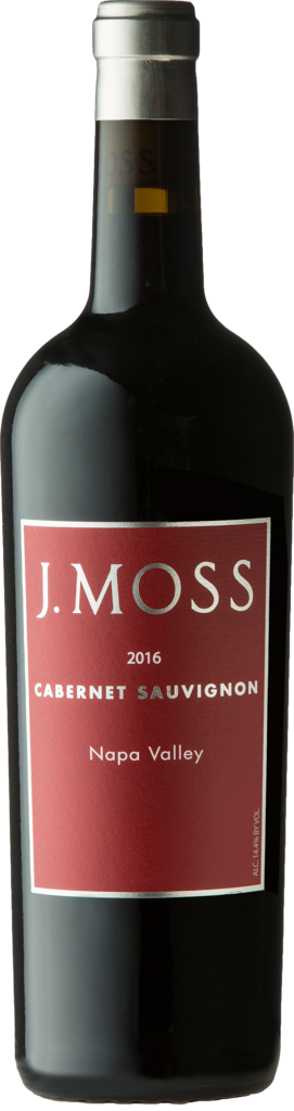 J. Moss 2016 Napa Valley Cabernet Sauvignon Bottle Preview