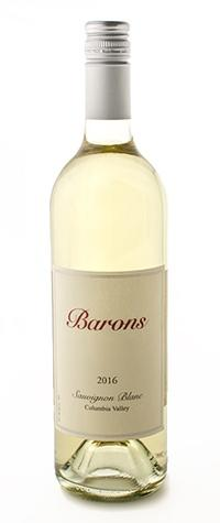 Barons Winery Sauvignon Blanc Bottle Preview
