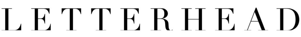 Letterhead Wines Logo