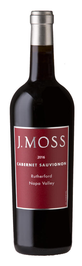 J. Moss 2016 Rutherford Napa Valley (Red Label) Bottle Preview