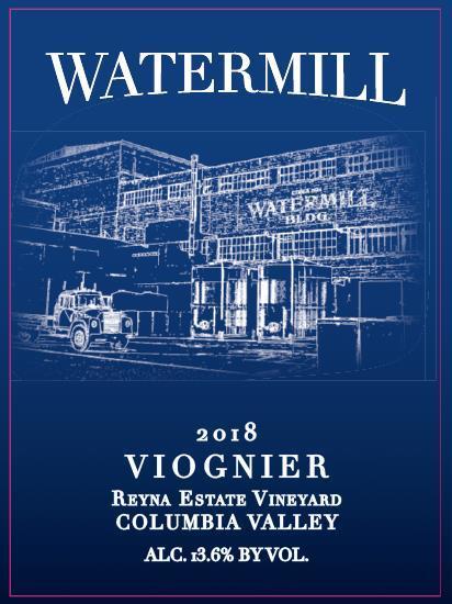 Watermill Winery Reyna Vineyard Viognier Bottle Preview