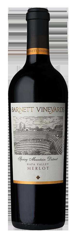 Barnett Vineyards Merlot, Spring Mountain District Bottle Preview