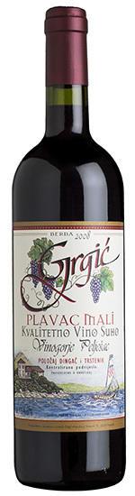 Grgich Hills Estate Plavac Mali, Grgic Vina Bottle Preview