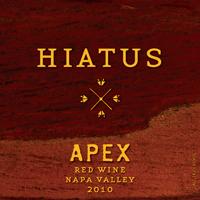 Hiatus Cellars Apex Napa Valley Red Wine Bottle Preview