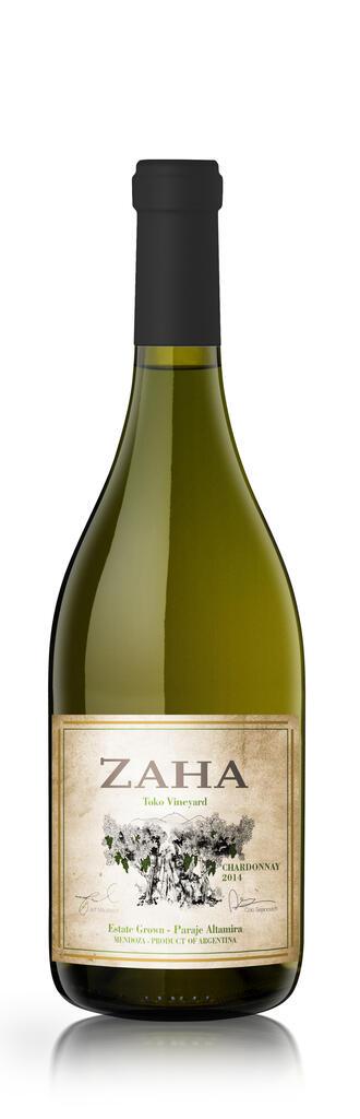 Bodega Teho Zaha Chardonnay Bottle Preview