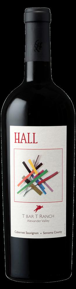 "HALL Napa Valley ""T BAR T RANCH"" CABERNET SAUVIGNON Bottle Preview"