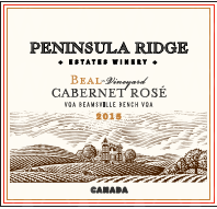 Peninsula Ridge Estates Winery Beal Vineyard Cabernet Rose