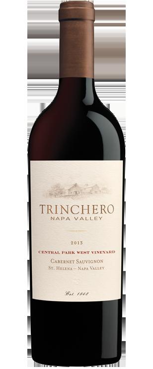 Trinchero Napa Valley Cabernet Sauvignon Central Park West Vineyard Bottle Preview
