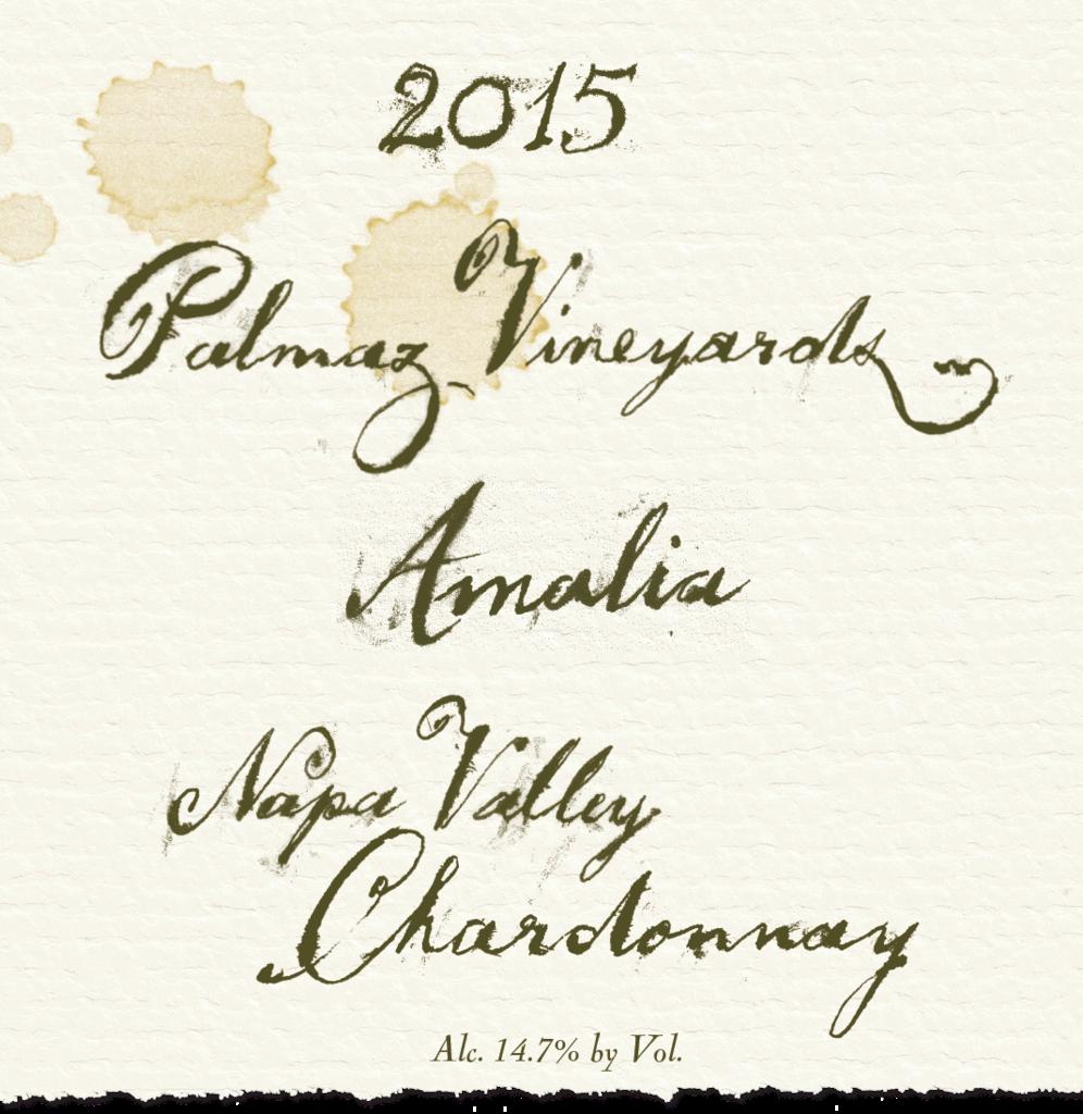 Palmaz Vineyards Amalia Chardonnay Bottle Preview