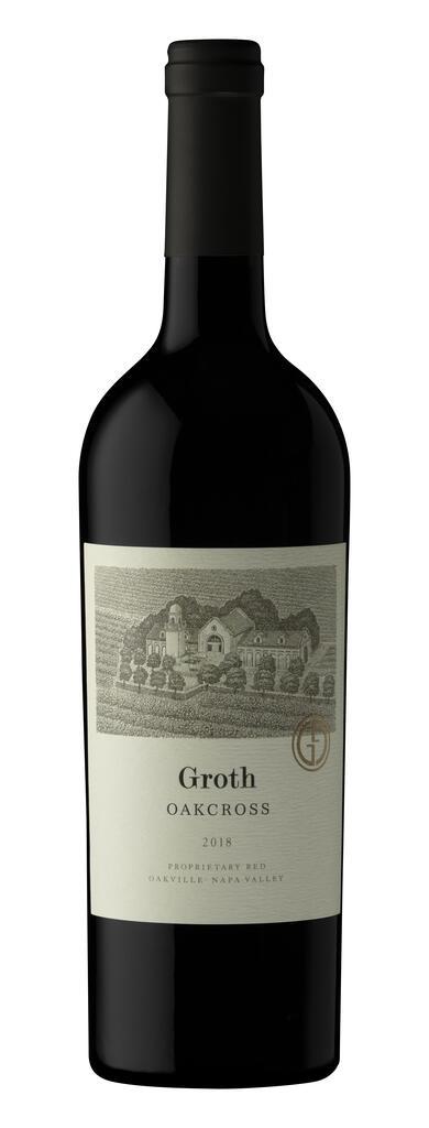 Groth Vineyards & Winery Oakcross Proprietary Red, Oakville Bottle Preview
