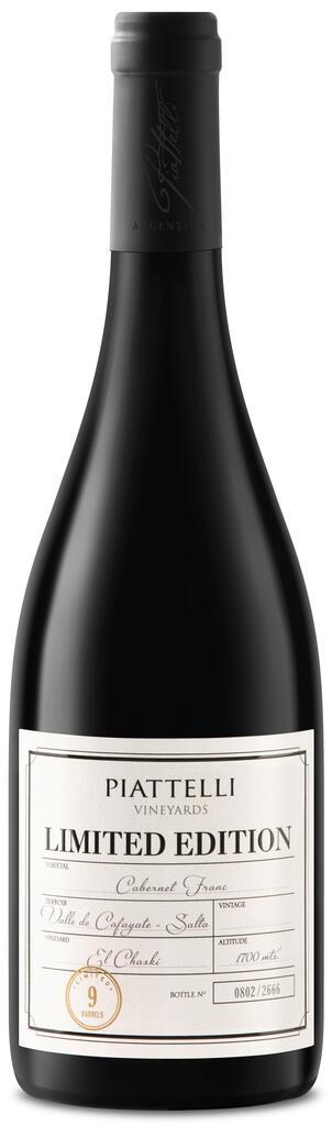 Piattelli Vineyards - Salta Limited Edition Cabernet Franc Bottle Preview