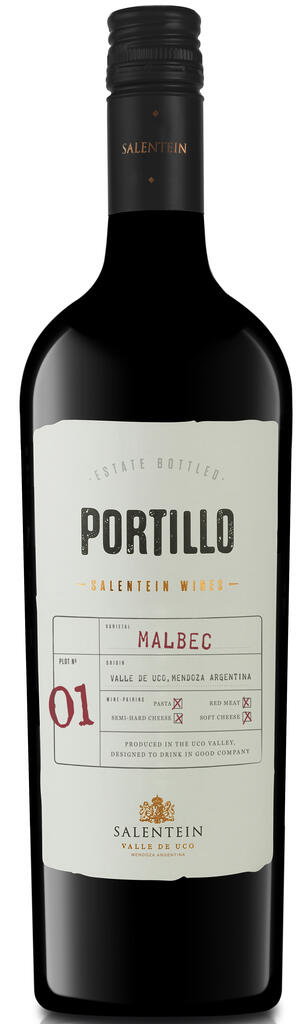 Portillo Malbec Bottle