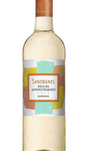 Sandbanks Estate Winery Riesling Gewürztraminer