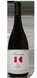 Keenan Winery Syrah Napa Valley Bottle Preview