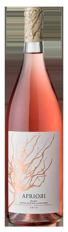Apriori Cellar Apriori Rosé Sangiacomo Vineyard Bottle Preview