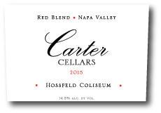 Carter Cellars Hossfeld Coliseum Red Blend Bottle Preview