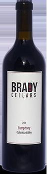 Brady Cellars Symphony Bottle Preview