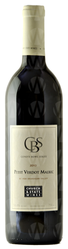 Church & State Wines Coyote Bowl Petit Verdot Malbec