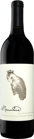 "àMaurice Cellars Estate Cabernet Sauvignon ""Owl and Crown"" Bottle Preview"