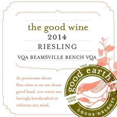 The Good Earth Vineyard and Winery Riesling