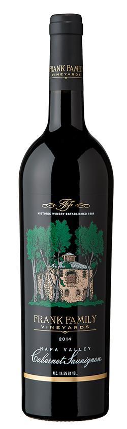 Frank Family Vineyards Napa Valley Cabernet Sauvignon Bottle Preview