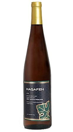Hagafen Cellars Hagafen Napa Valley Dry White Riesling Bottle Preview