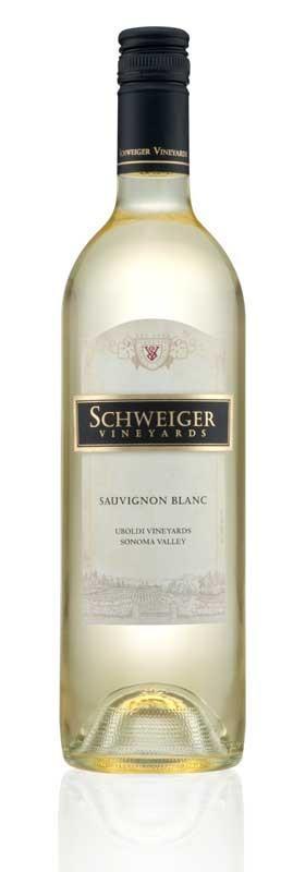 Schweiger Vineyards Sauvignon Blanc Bottle Preview