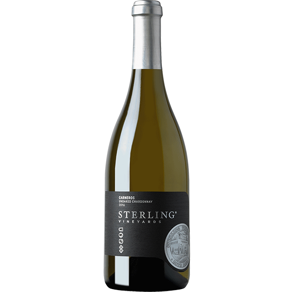 Sterling Vineyards Unoaked Chardonnay Bottle Preview