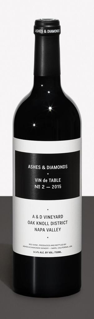 Ashes & Diamonds VIN DE TABLE №2 — 2015 Bottle Preview