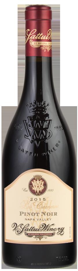 V. Sattui Winery Los Carneros Pinot Noir Bottle Preview