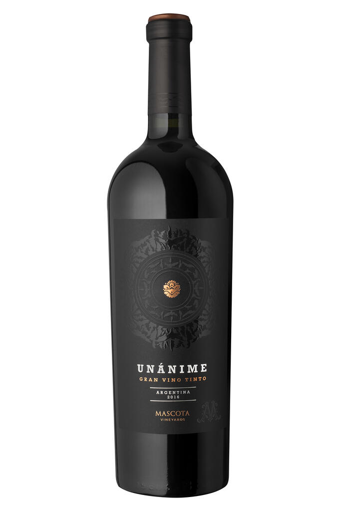 Mascota Vineyards Unanime Red Blend Bottle Preview