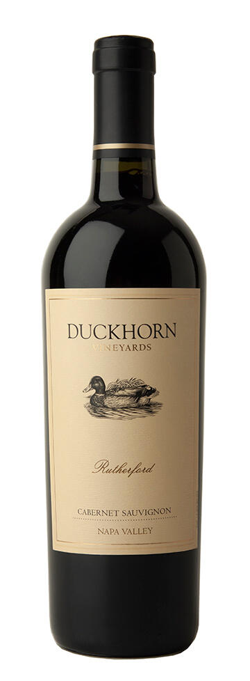 Duckhorn Vineyards Rutherford Napa Valley Cabernet Sauvignon Bottle Preview