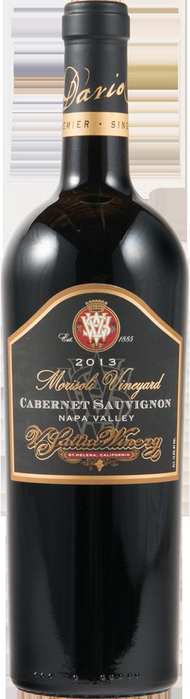 V. Sattui Winery Morisoli Vineyard Cabernet Sauvignon Bottle Preview