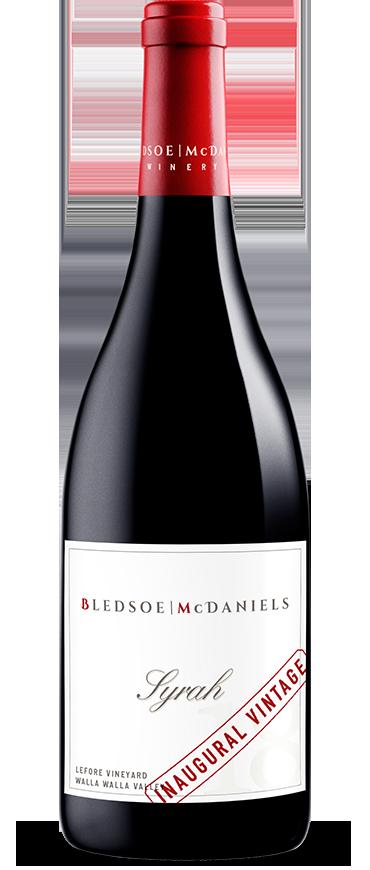 Bledsoe | McDaniels Syrah Bottle Preview