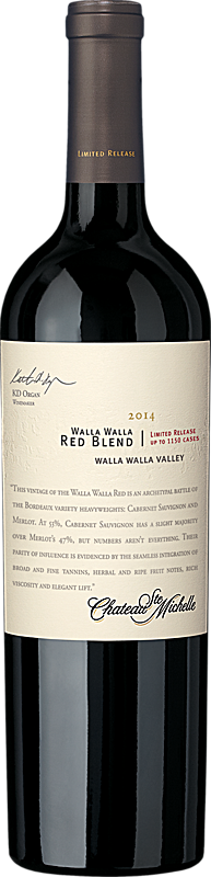 Limited Release Walla Walla Red Wine Blend Bottle Preview