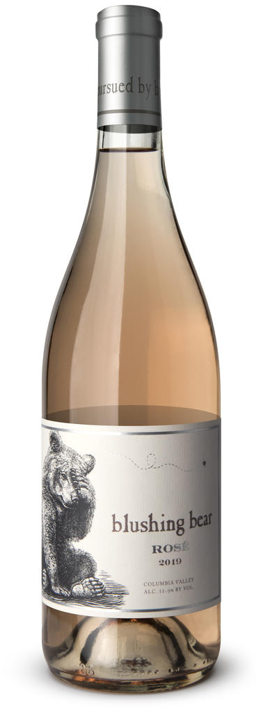 ...pursued by bear Blushing Bear Rosé Bottle Preview