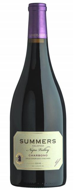Summers Estate Wines Calistoga Estate Charbono Bottle Preview