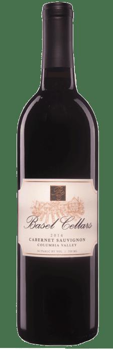 Basel Cellars Estate Winery Cabernet Sauvignon Bottle Preview