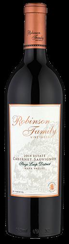 Robinson Family Vineyards Estate Cabernet Sauvignon Bottle Preview