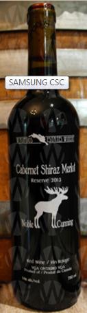 Waupoos Estates Winery Cabernet Shiraz Merlot Reserve
