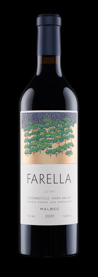 Farella Vineyard ESTATE MALBEC Bottle Preview