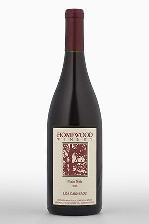 Homewood Winery Pinot Noir, Los Carneros Bottle Preview
