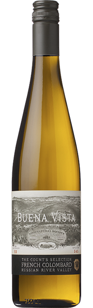 Buena Vista Winery Count's Selection French Colombard Bottle Preview