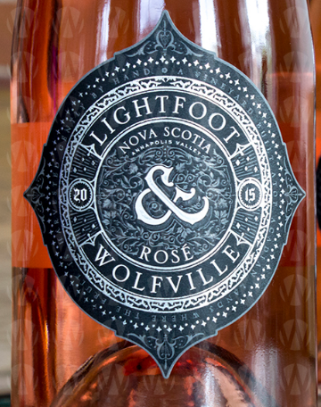 Lightfoot  & Wolfville Vineyards Rose