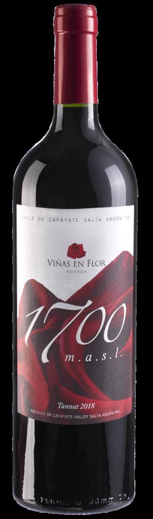 Viñas en Flor Bodega Tannat. Bottle Preview