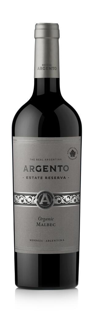 Bodega Argento Argento Estate Reserve Organic Malbec Bottle Preview